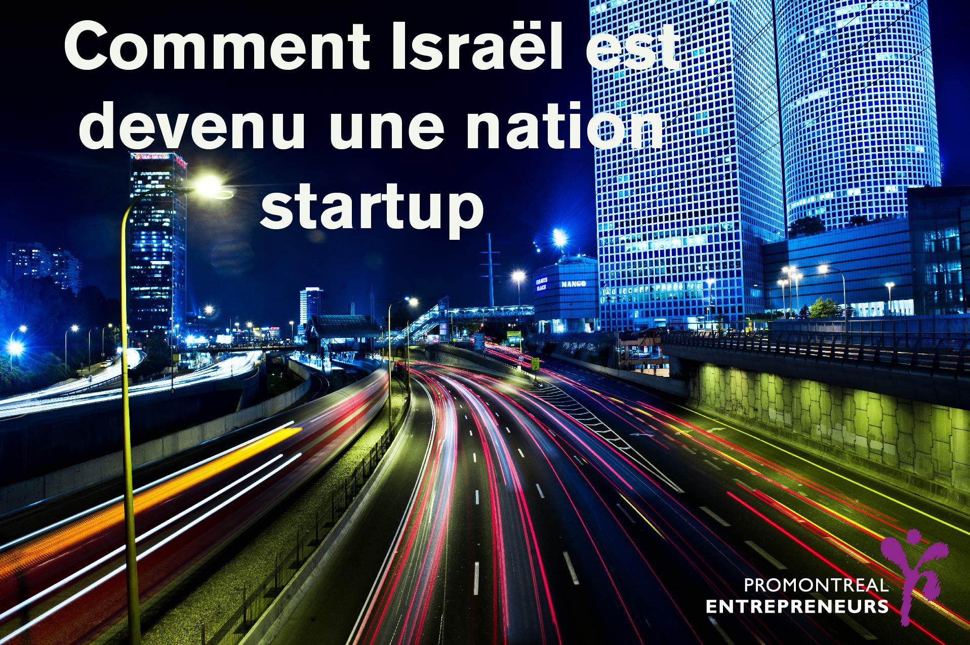 Israël, startup